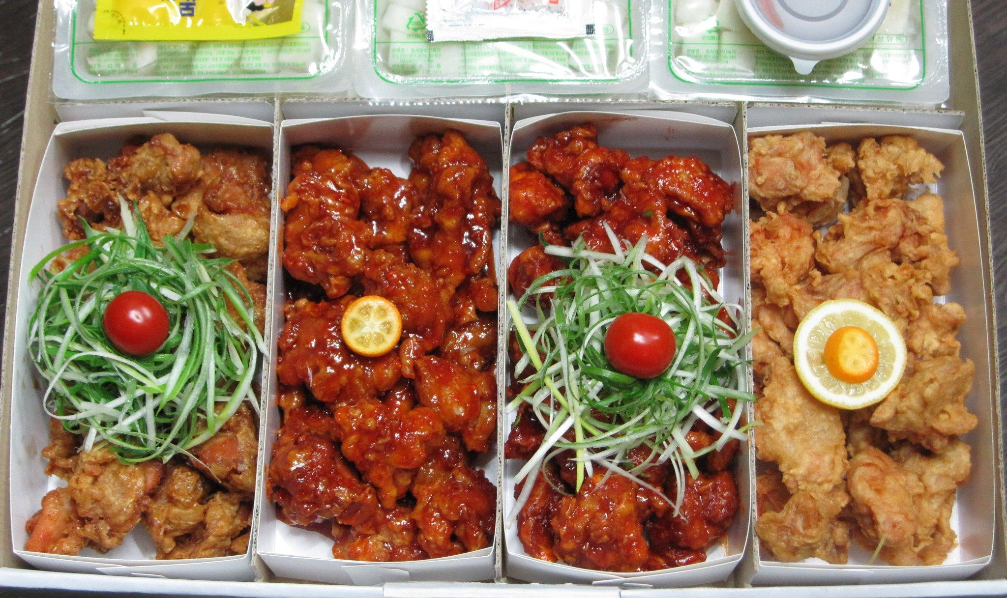 Popular Fried Chicken brands in Korea