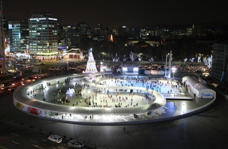 Seoul Square skate link
