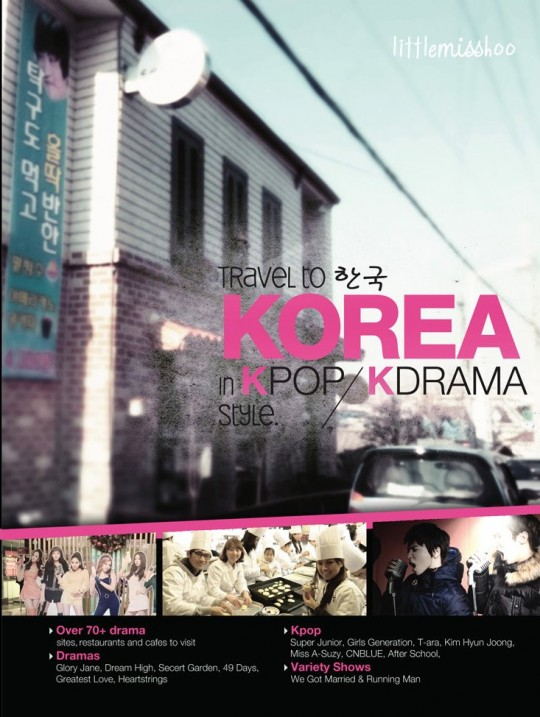 Travel to Korea in K-pop and KDRAMA style