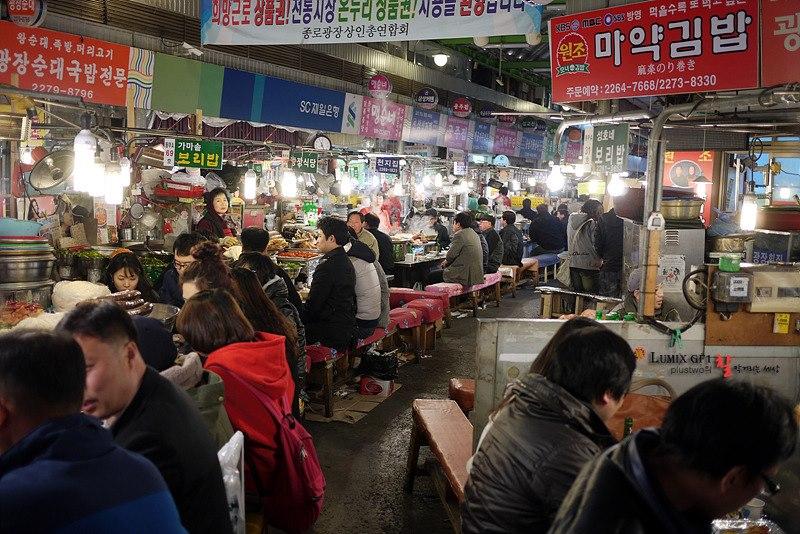 Traditional wet market – Kwangjang Market