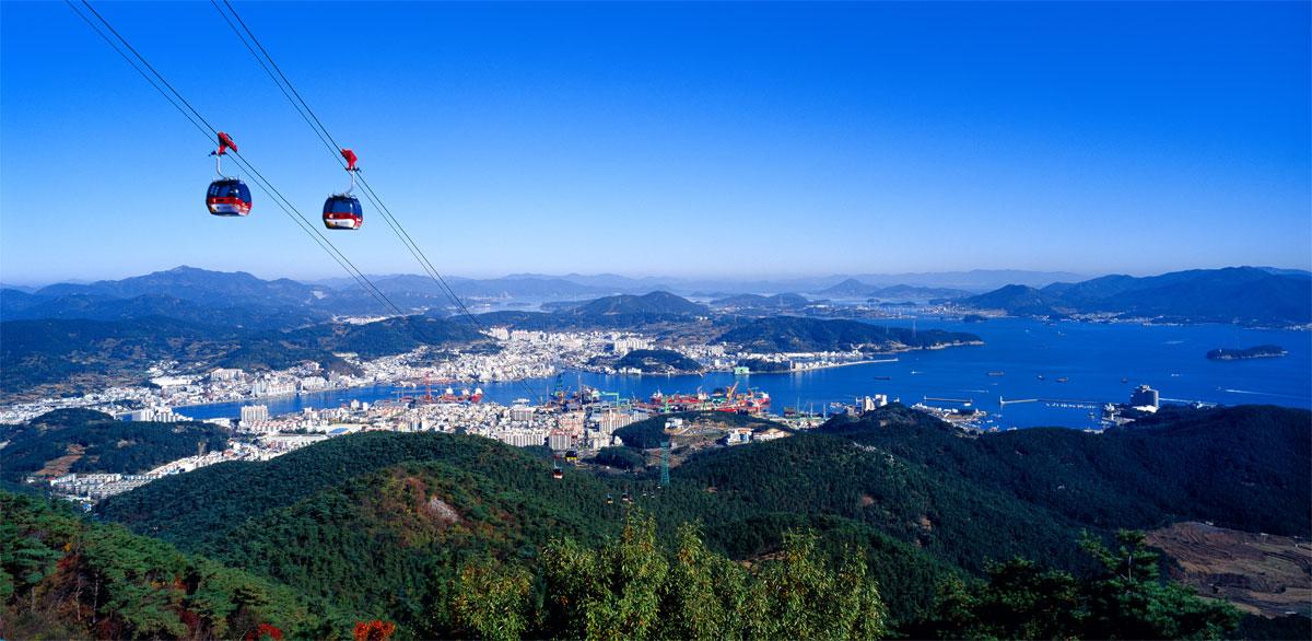 Tongyeong, the beauty of South Coast