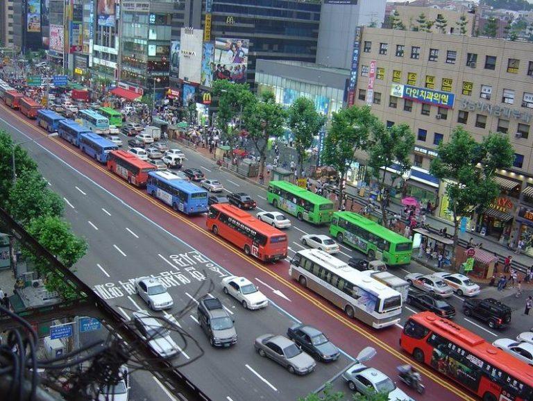Navigating about Seoul