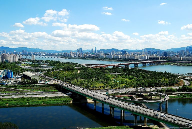 Hangang River is a park!