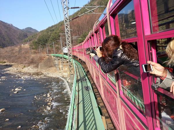 Special train day trip to hidden inland gems