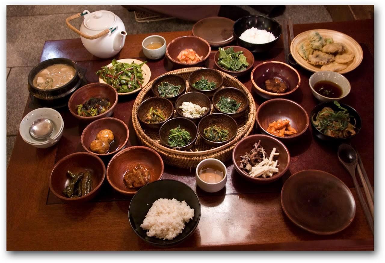 Fine vegetarian restaurants in Seoul.