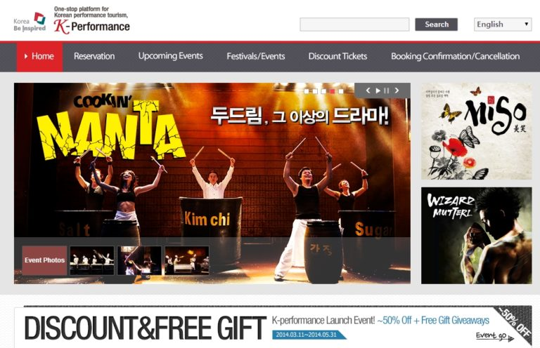 Where to book Korean performance and musical tickets online?