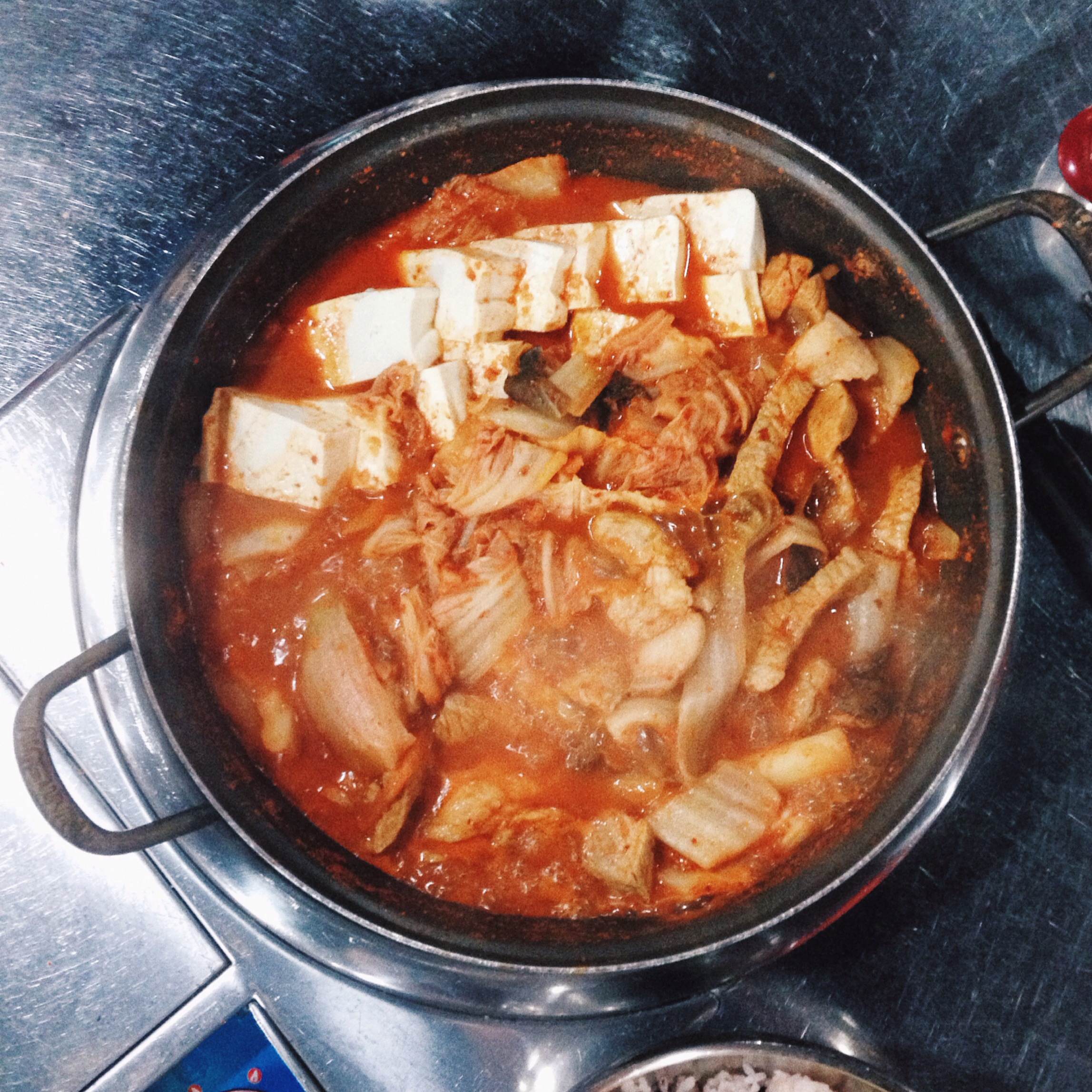 the traditional Kimchi pot in sinchon