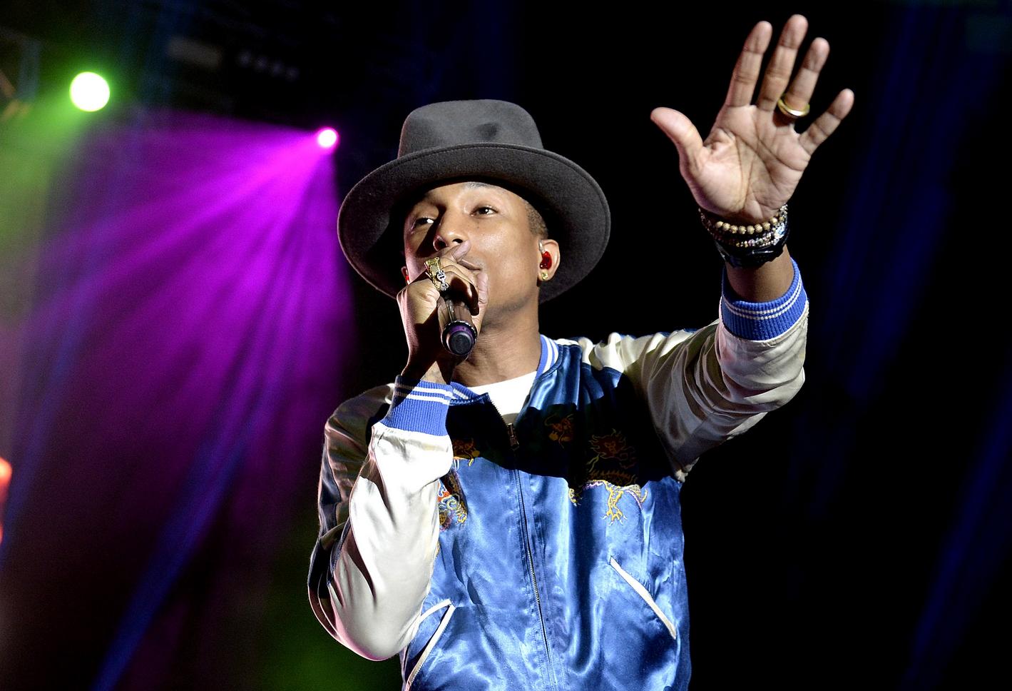 Pharrell Williams Live Concert In Seoul