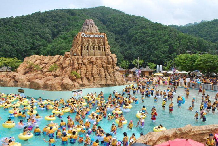 Vivaldi Park Ocean World (Water park in Korea)