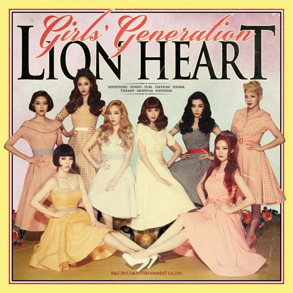 SNSD – Girls' Generation latest album! LION HEART