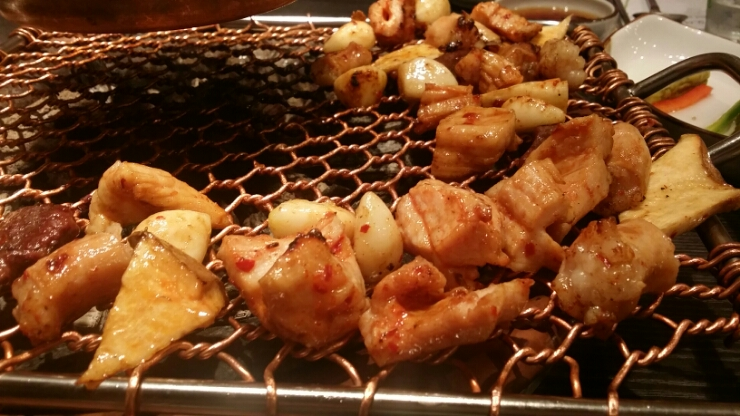Unusual, addictive and delicious- Korean BBQ, GOBCHANG!