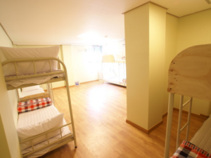 [Accommodation Highlight]   Neat & tidy dormitory room(for 8 guests) near Myeong-Dong, present by BnB Hero