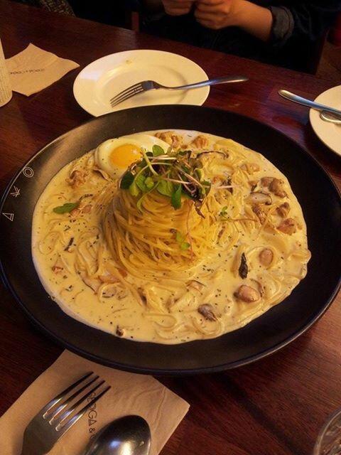 "Pasta & steak restaurant ""seoga&cook"""