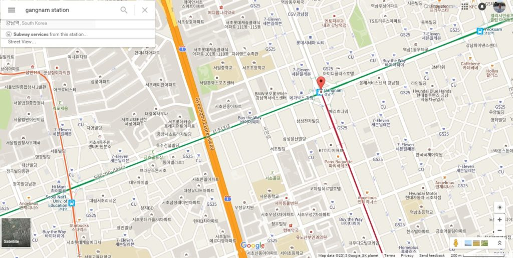 Gangnam Underground Shopping Arcade (강남 고속터미널 지하상가 ...