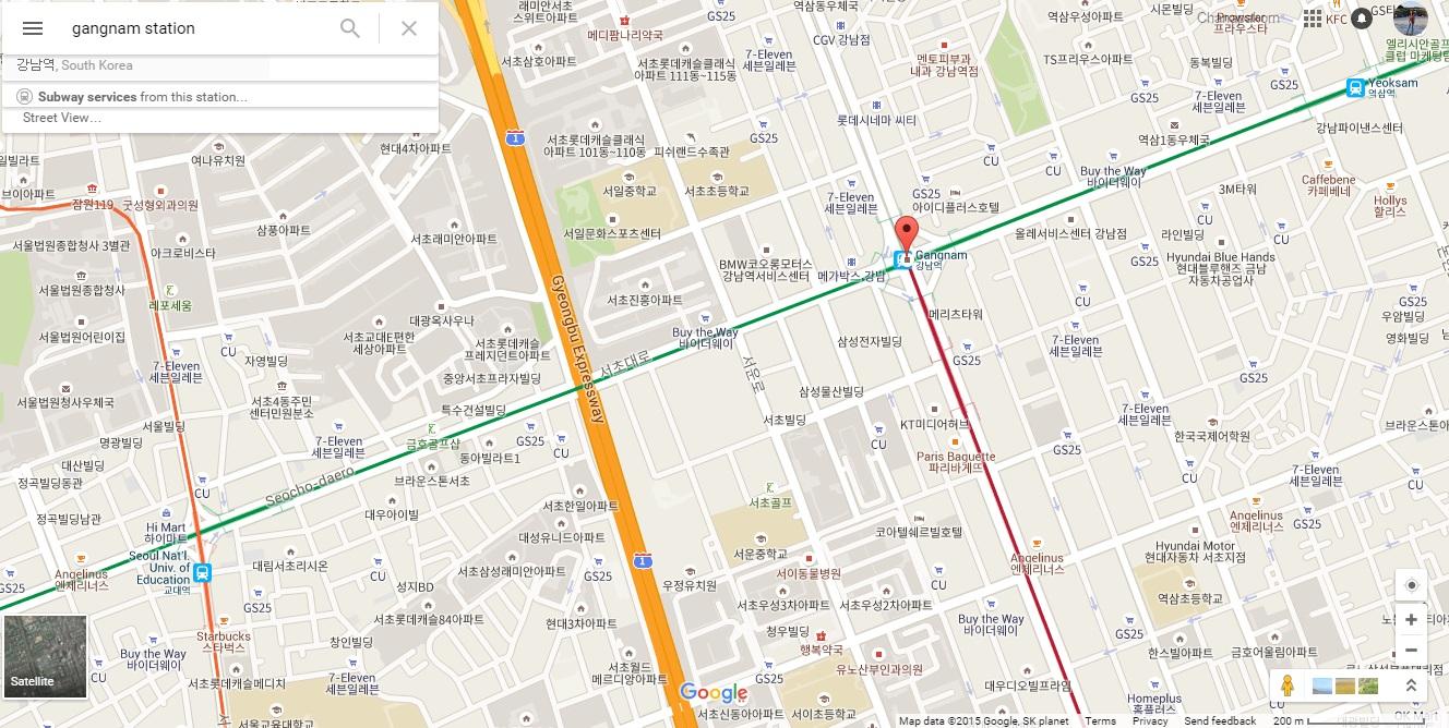 Gangnam Underground Shopping Arcade (강남 고속터미널 지하상가)