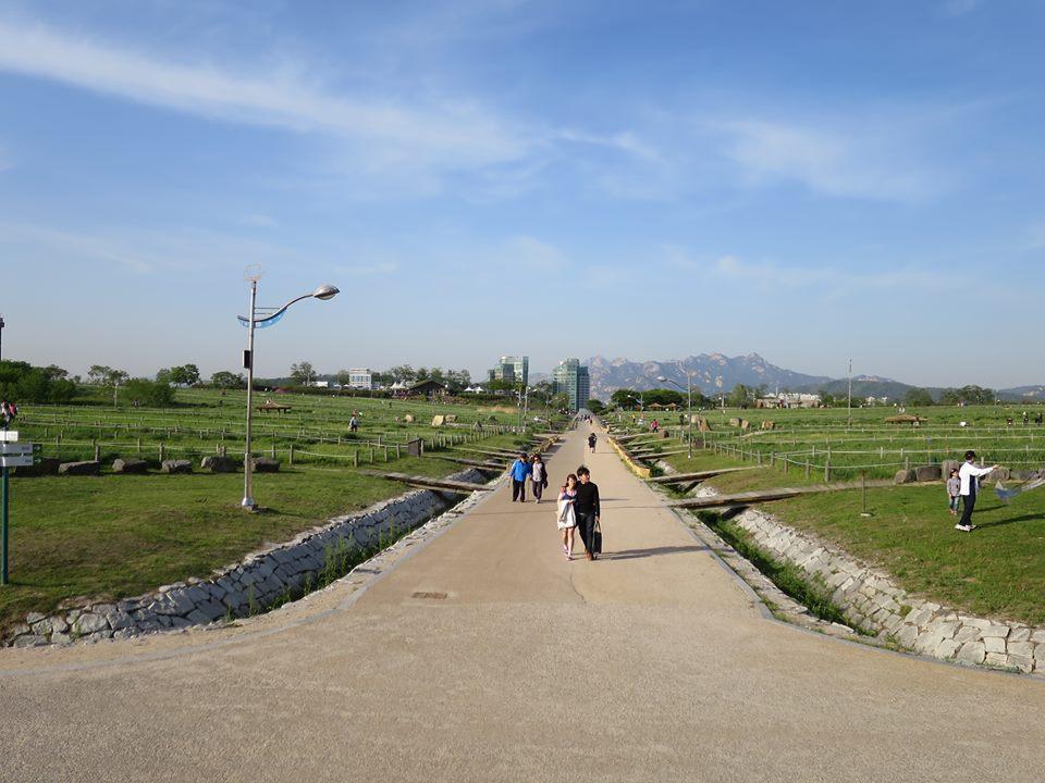 Let's go walking in Haneul Park