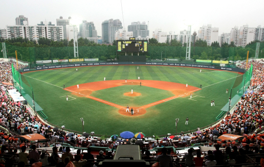 3 famous baseball stadium in Korea