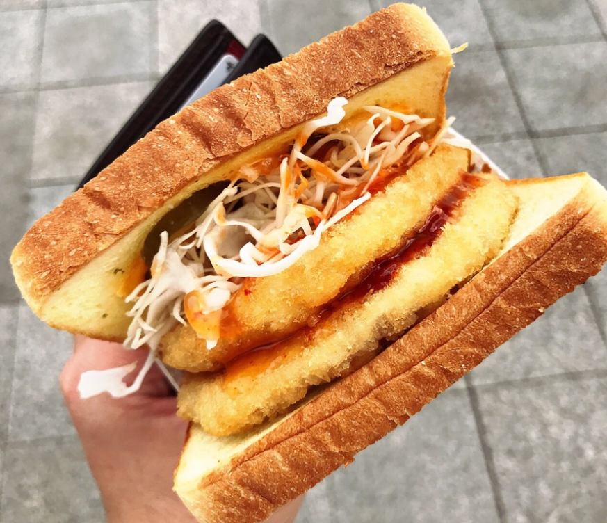 Isaac toast & coffee – Must-eat toast in KOREA!