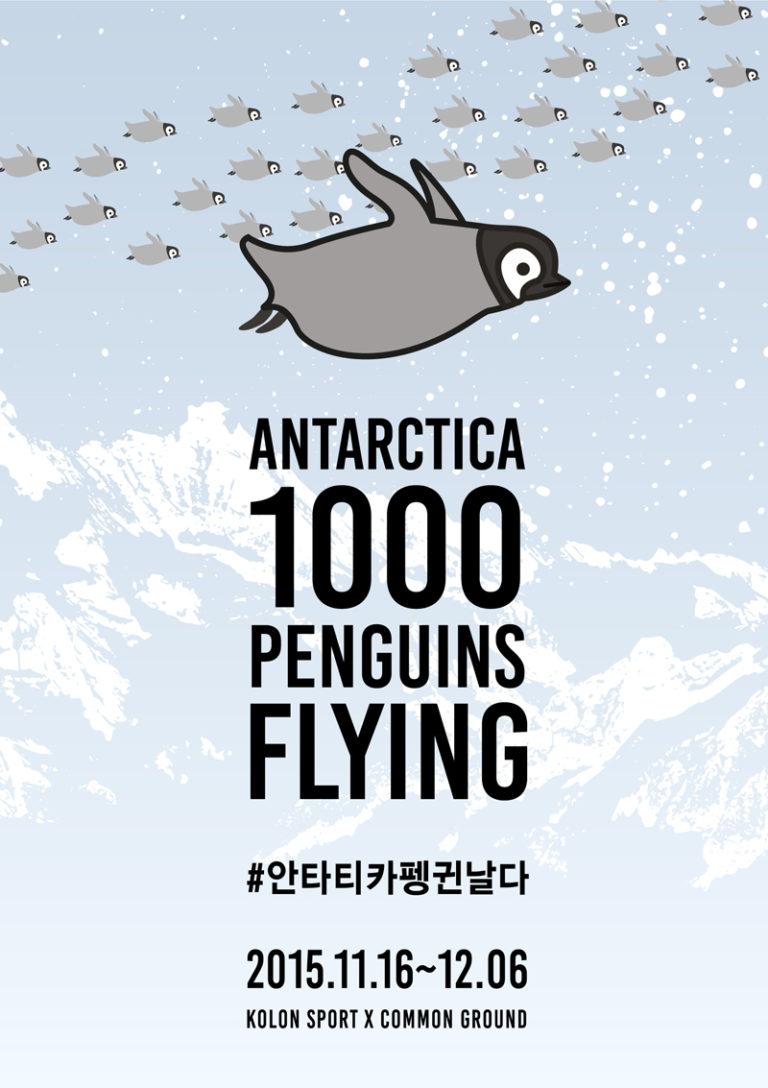 [Antarctica 1000 Penguins Flying Exhibition]