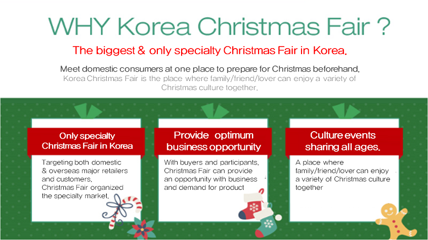 Korea Christmas Fair from this week!
