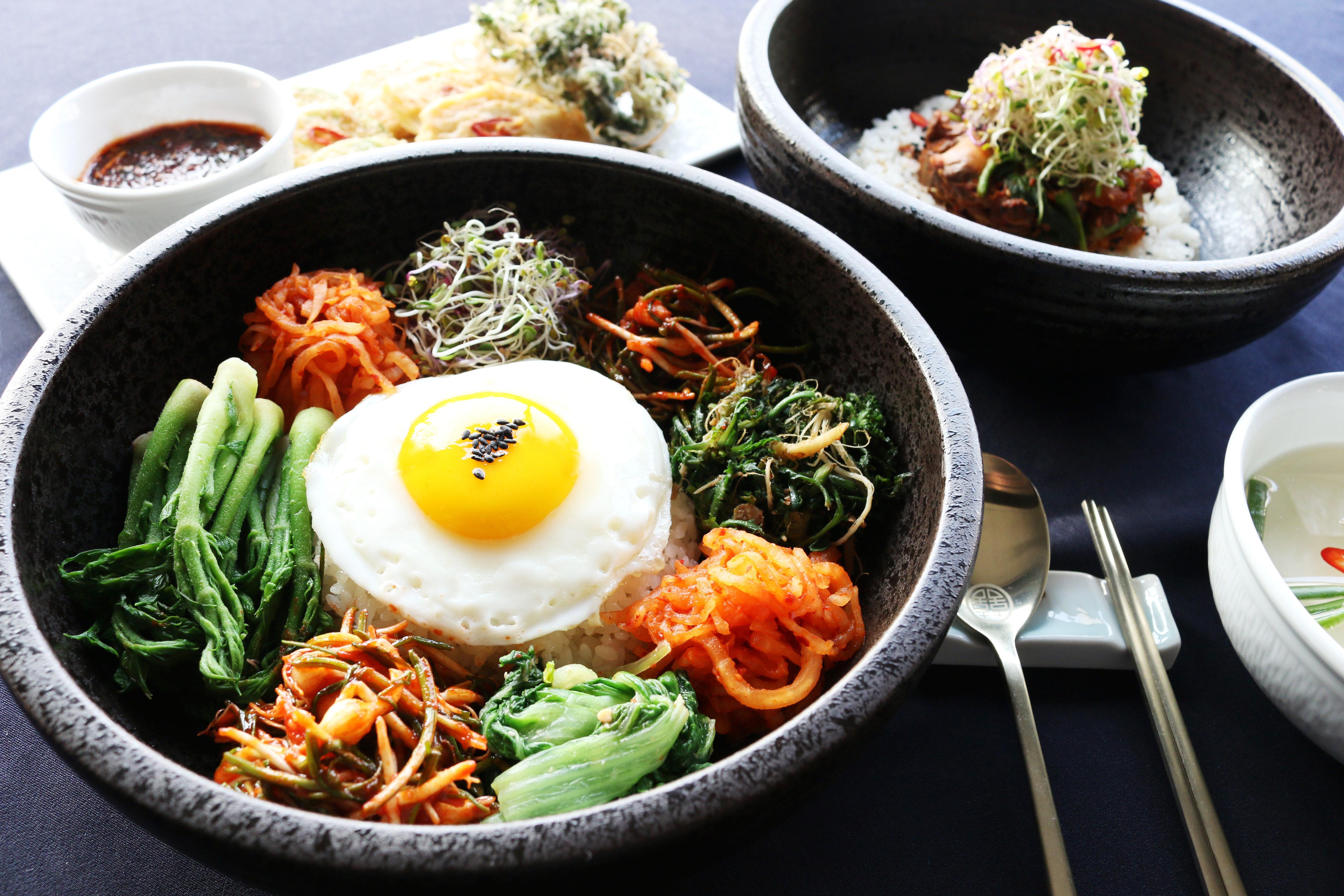 Korean's food Vegetables only
