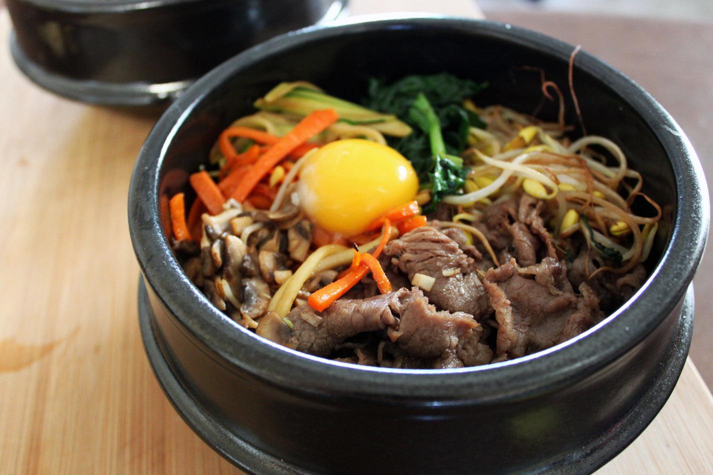 Dolsot Bi Bim Bap (돌솥 비빔밥)