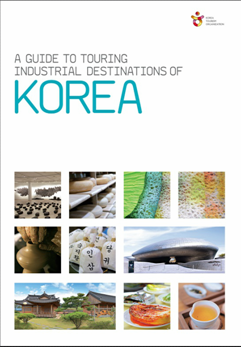 8. A guide touring industrial destinations of Korea