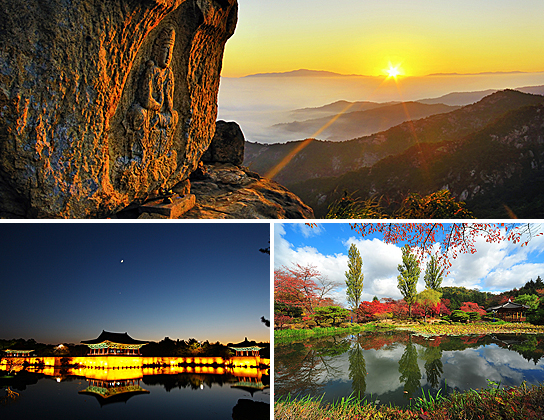 A city full of vast number of archaeological sites and cultural properties, Gyeongju