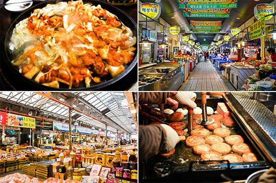 Traditional markets in Seoul, South Korea