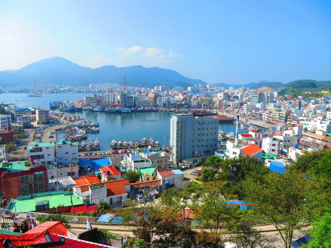 Amazing coastal city- Tongyeong