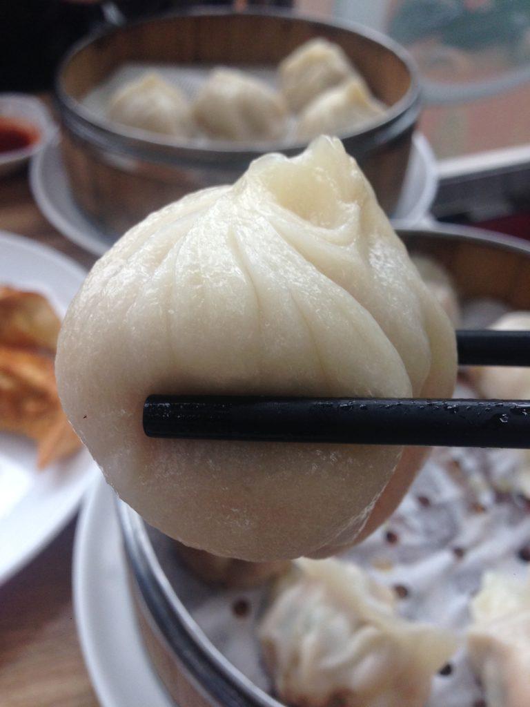 Delicious Chinese dumpling restaurant