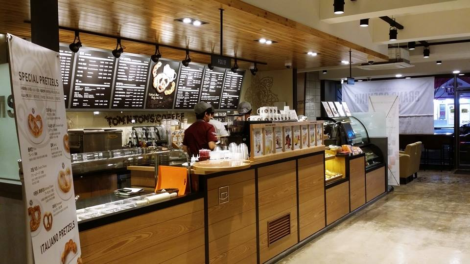 Worldwide famous Korean Coffee store- TOM N TOMS