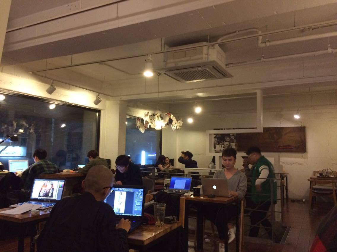 Cafe Gabie (가비애): 24 hour cafe