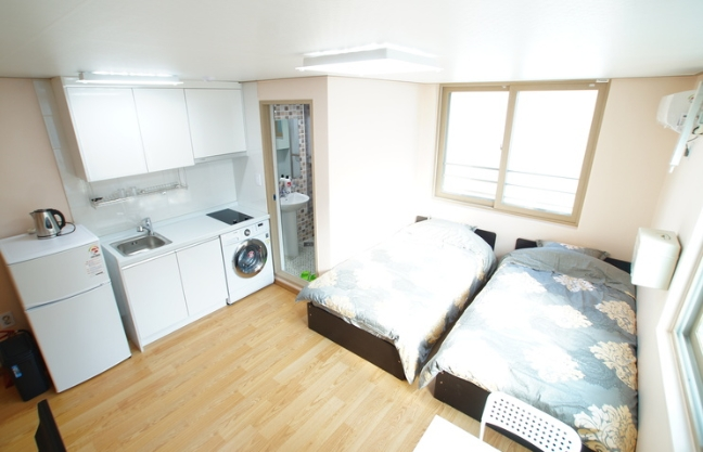 [Accommodation Highlight]  Full furnished with a cozy room in Gangnam A