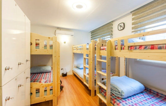 [Accommodation Highlight]  Bauhaus Guesthouse 6-Bed Dorm with bunk bed, adjacent private bathroom