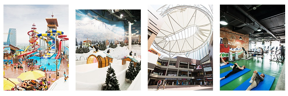 One of the greatest theme park in Korea, ONEMOUNT