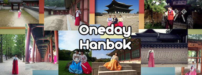 Renting & experience wearing a Hanbok