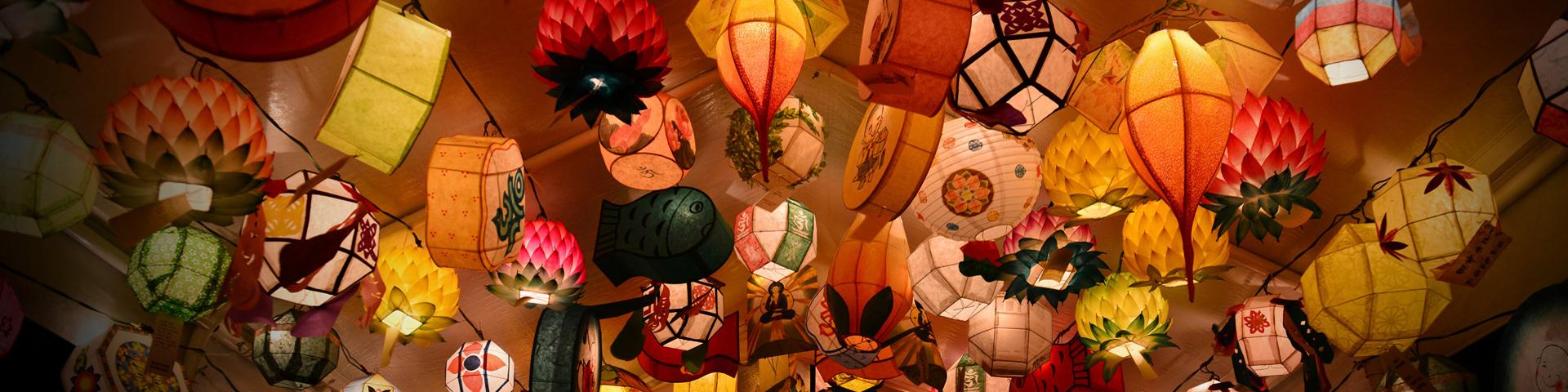 Seoul Lotus lantern festival