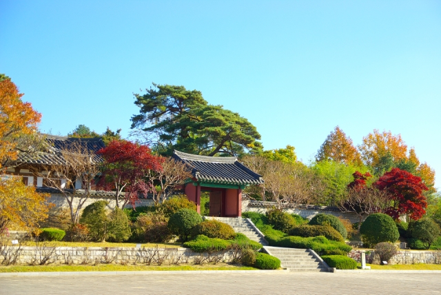 An ancient house in Gangwon-do, the Ojukheon