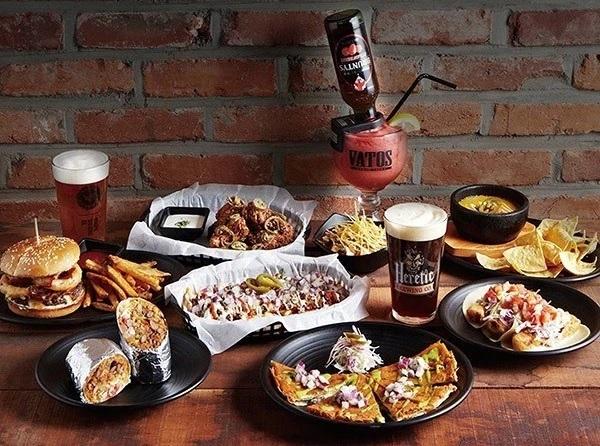 VATOS URBAN TACOS, special Korean-Mexican fusion cuisine!