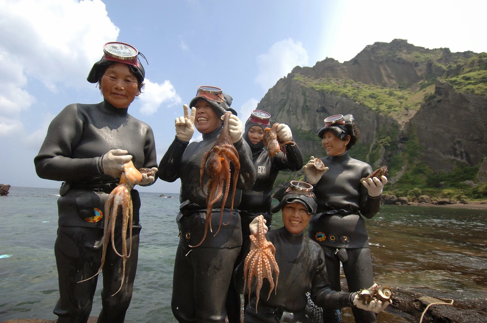 jeju island woman divers 4