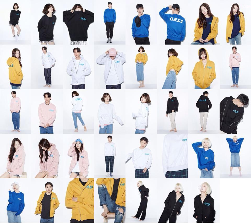 Korean model clothing brand, 87mm