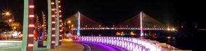 A beautiful port city in southern Korea, Yeosu