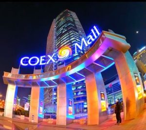 COEX Mall for next travel destination!