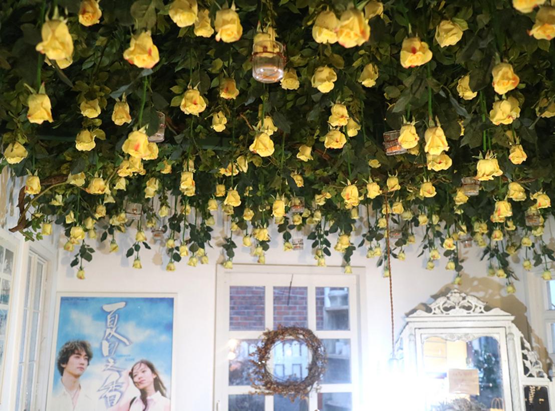 Enjoying all-year round blooming flower: Flower Cafes in Korea