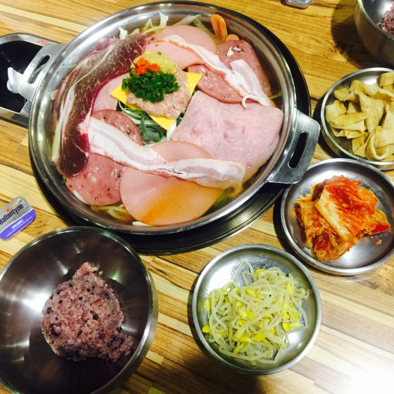 Budae-jjigae to the Next Level!!