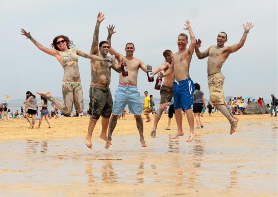 Exciting Mud Festival