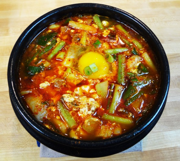 Best  korean spicy stew for winter
