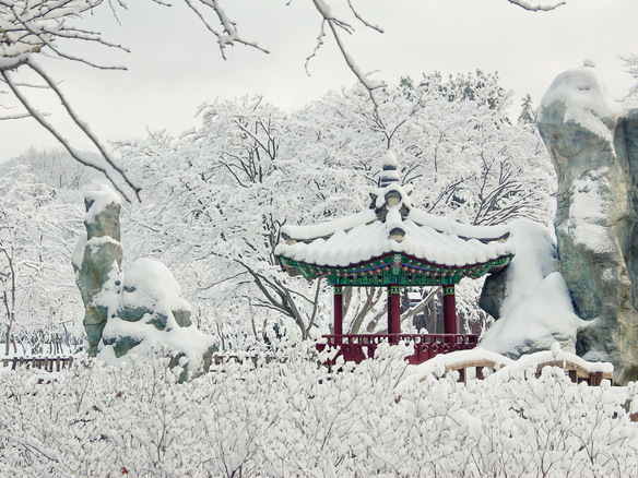 Do you wanna build a snowman? – Winter activities in Korea!