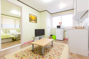 [Seoul accommodation] Best location in Hongdae 'JeongStay', Best Price Guarantee